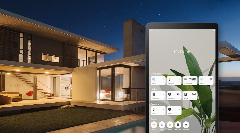Управление устройствами в доме с одного экрана