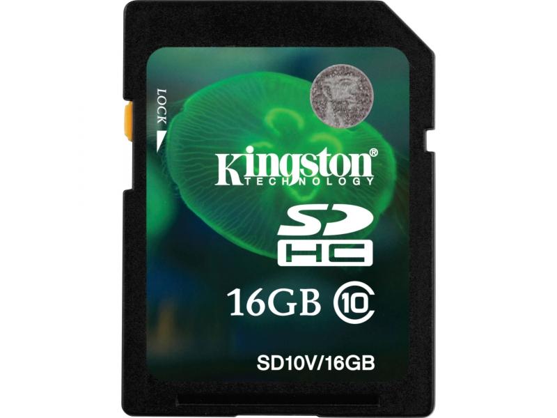 Карта памяти Kingston SD10V/16GB