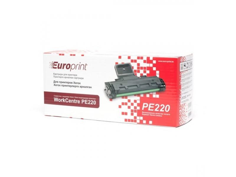 Картридж Europrint Xerox WC PE220 EPC-PE220 Black