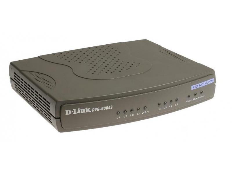 Коммутатор D-Link DVG-6004