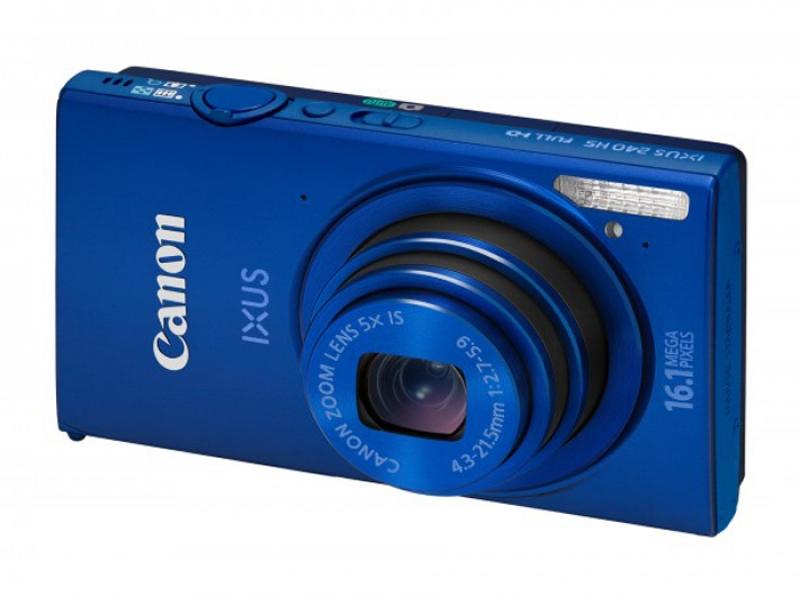 Цифровой фотоаппарат Canon Digital IXUS 240 HS Blue