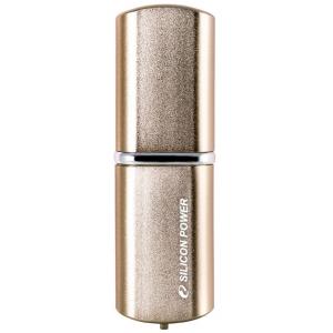 Флэшка Siliconpower Luxmini 720 (SP008GBUF2720V1Z) Bronze