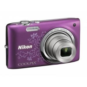 Цифровой фотоаппарат Nikon Coolpix S2700 Violet Lineart