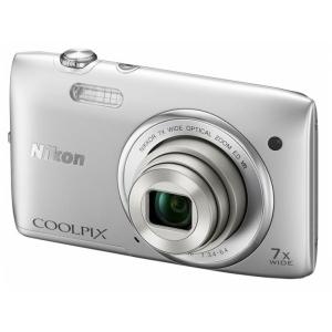 Цифровой фотоаппарат Nikon Coolpix S3500 Silver