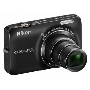 Цифровой фотоаппарат Nikon Coolpix S6300 Black