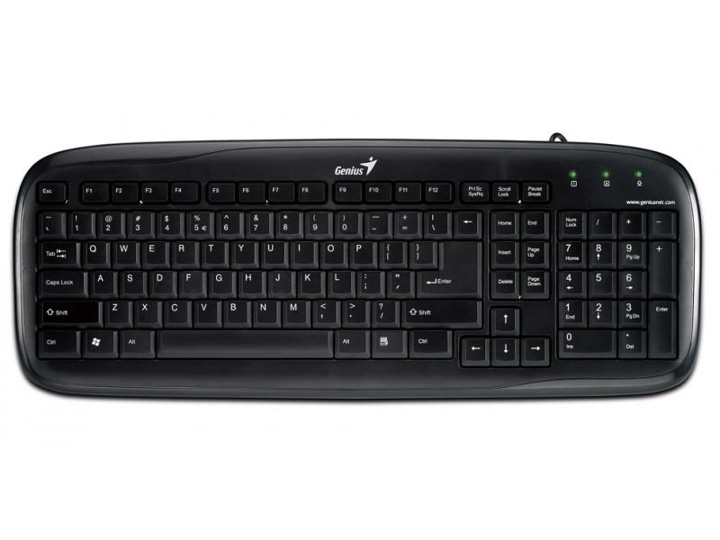 Клавиатура Genius Slim Star 110 (31300677122) Black