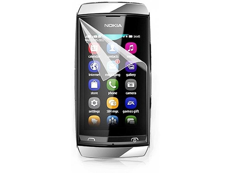 Защитная пленка Newtop Nokia Asha 305 (Глянцевая)