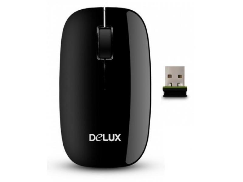 Мышь Delux DLM-110OGB 3D Black