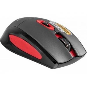 Мышь Defender MM-515 Nano Black/Red