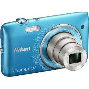 Цифровой фотоаппарат Nikon Coolpix S3500 Blue