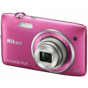 Цифровой фотоаппарат Nikon Coolpix S3500 Pink