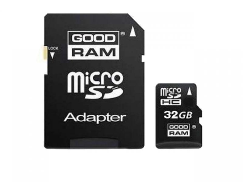 Карта памяти Goodram Micro Secure Digital 32GB Class 10