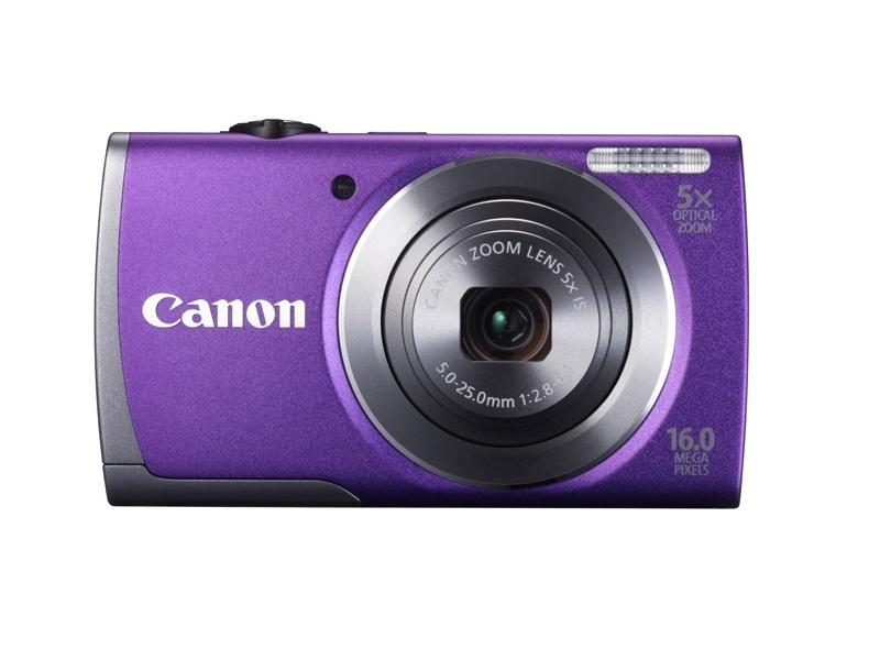 Цифровой фотоаппарат Canon PowerShot A3500 IS Purple