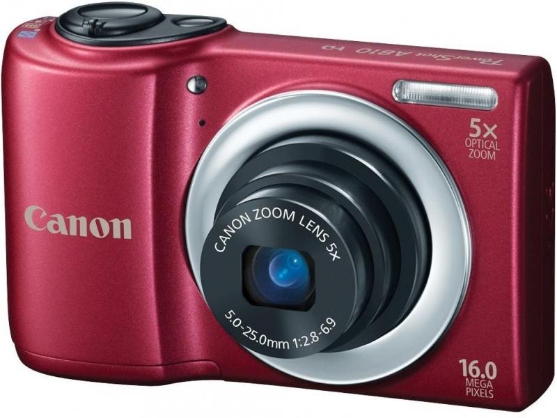 Цифровой фотоаппарат Canon PowerShot A810 Red