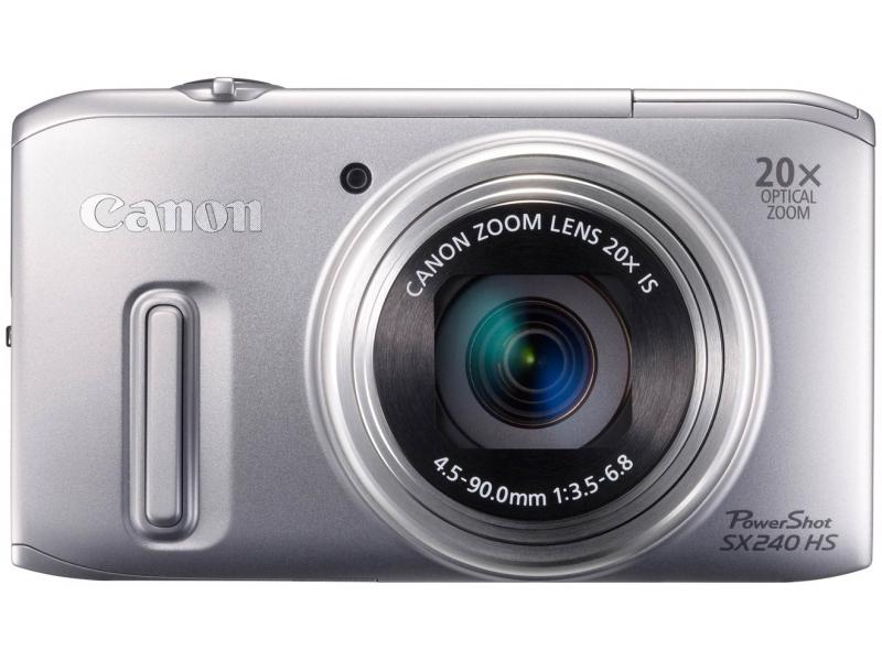 Цифровой фотоаппарат Canon PowerShot SX240 HS Silver