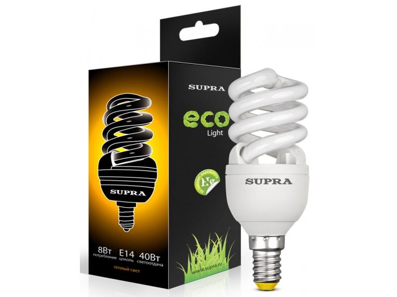 Лампа Supra SL-FSP-8/2700/E14