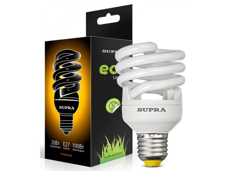 Лампа Supra SL-FSP-20/2700/E27