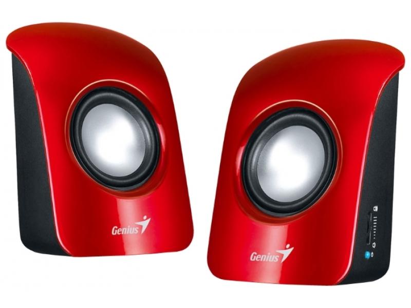Звуковые колонки Genius SP-U115 Red