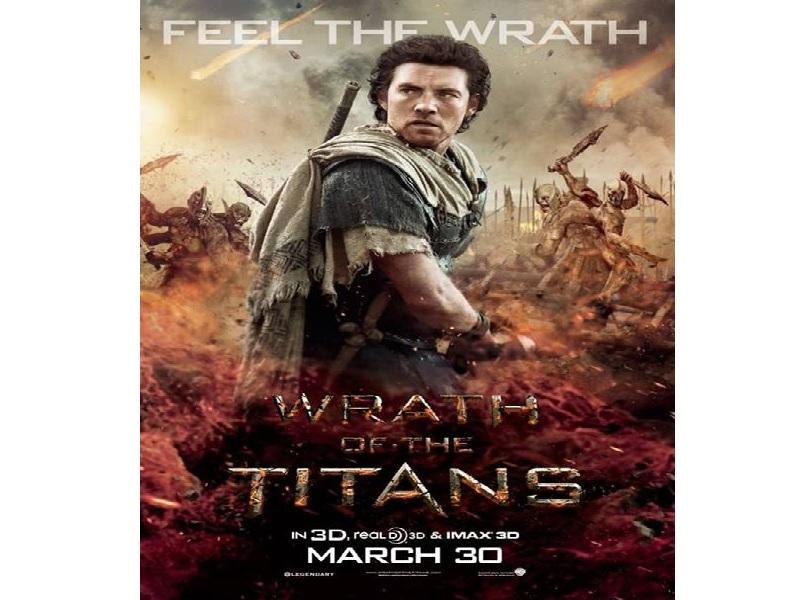 Кинофильм Гнев Титанов (3D+2D)