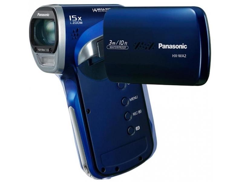Видеокамера Panasonic HX-WA2EE-A Blue
