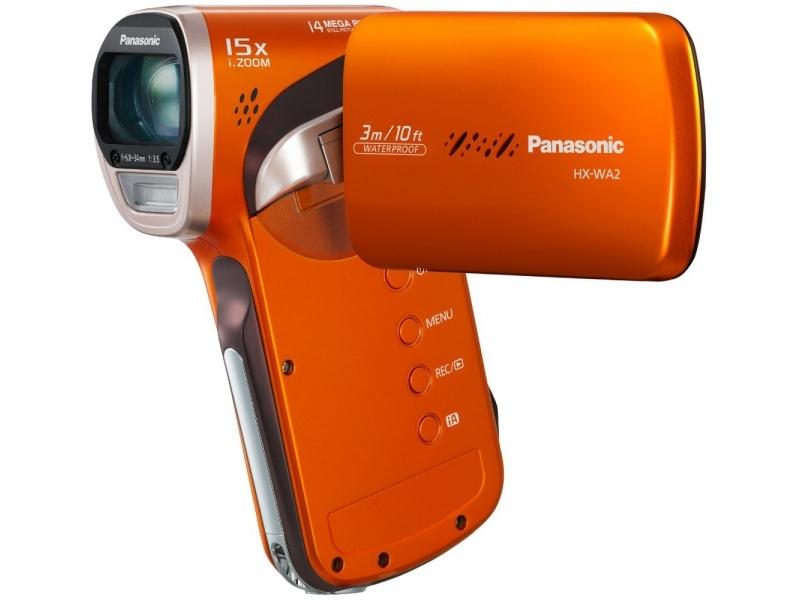 Видеокамера Panasonic HX-WA2EE-D Orange