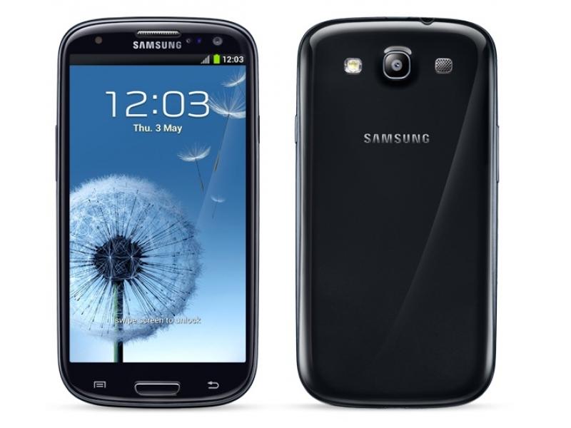 Смартфон Samsung Galaxy S III Sapphire Black (GT-I9300OKDCAC)