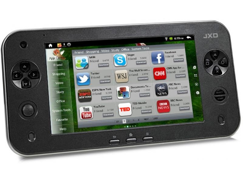 Игровая система JXD S7100 Black