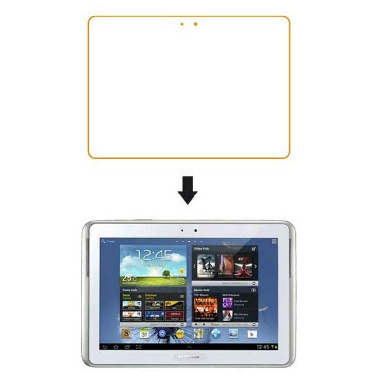 Защитная пленка для планшета Samsung N8000 Глянцевая