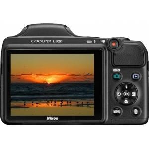 Цифровой фотоаппарат Nikon CoolPix L820 Black