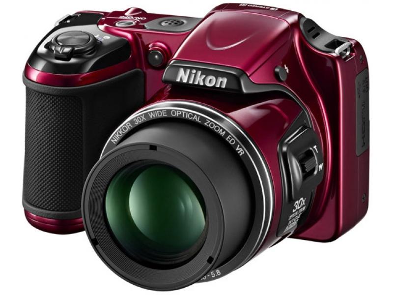 Цифровой фотоаппарат Nikon CoolPix L820 Red