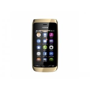Мобильный телефон Nokia Asha 308 Gold Light