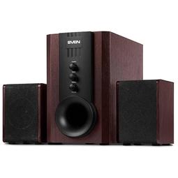 Звуковые колонки Sven SPS-821 Dark Wood/Black