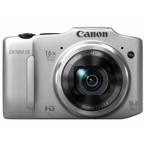Цифровой фотоаппарат Canon PowerShot SX 160 IS Silver