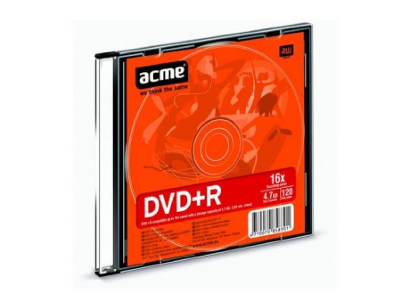 CD/DVD/BluRay диски Acme 4.7GB 16x