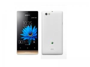 Смартфон Sony Xperia MIIRO ST23l White/Gold