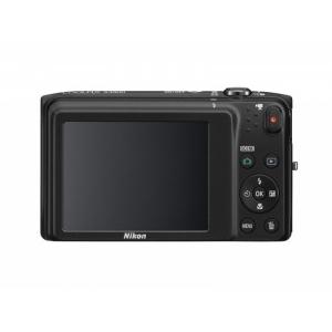 Цифровой фотоаппарат Nikon Coolpix S3500 Black + SD card 4GB