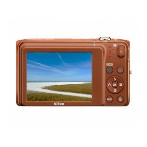 Цифровой фотоаппарат Nikon Coolpix S3500 Orange