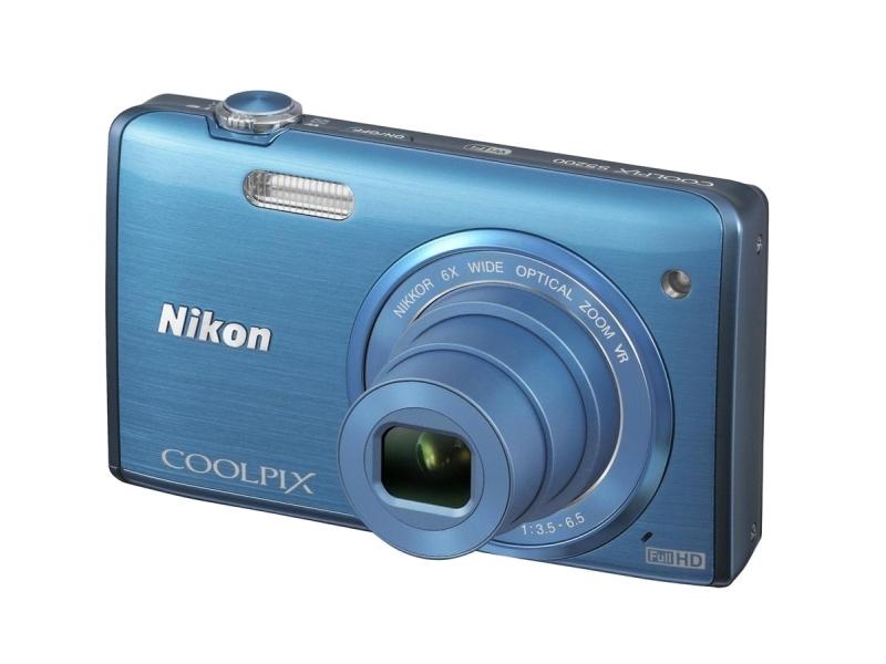 Цифровой фотоаппарат Nikon Coolpix S5200 Blue