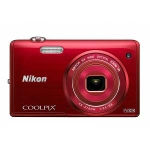 Цифровой фотоаппарат Nikon Coolpix S5200 Red