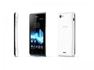 Смартфон Sony Xperia J ST26i White