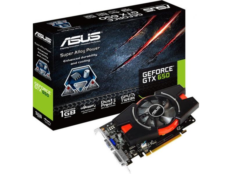 Видеокарта Asus GTX650-E-1GD5
