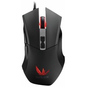 Мышь Delux DLM-555OUB Black