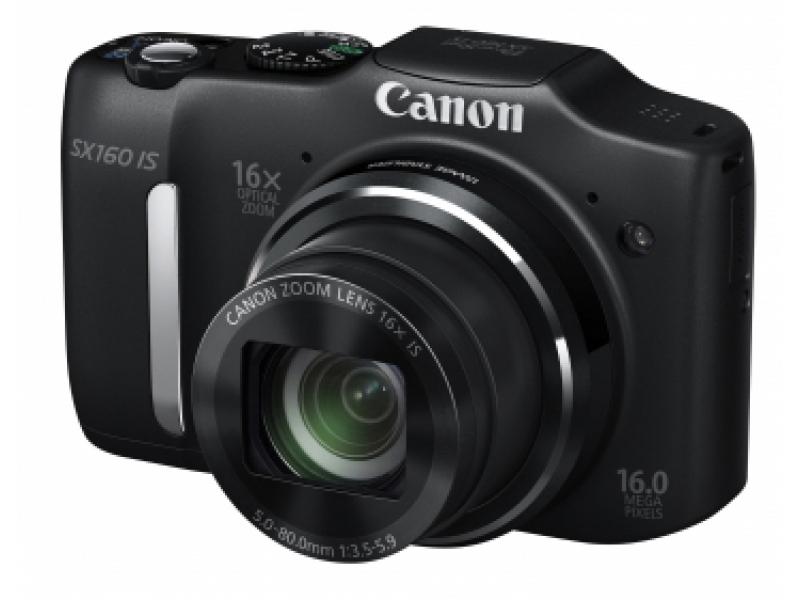Цифровой фотоаппарат Canon Powershot SX 160 IS Black