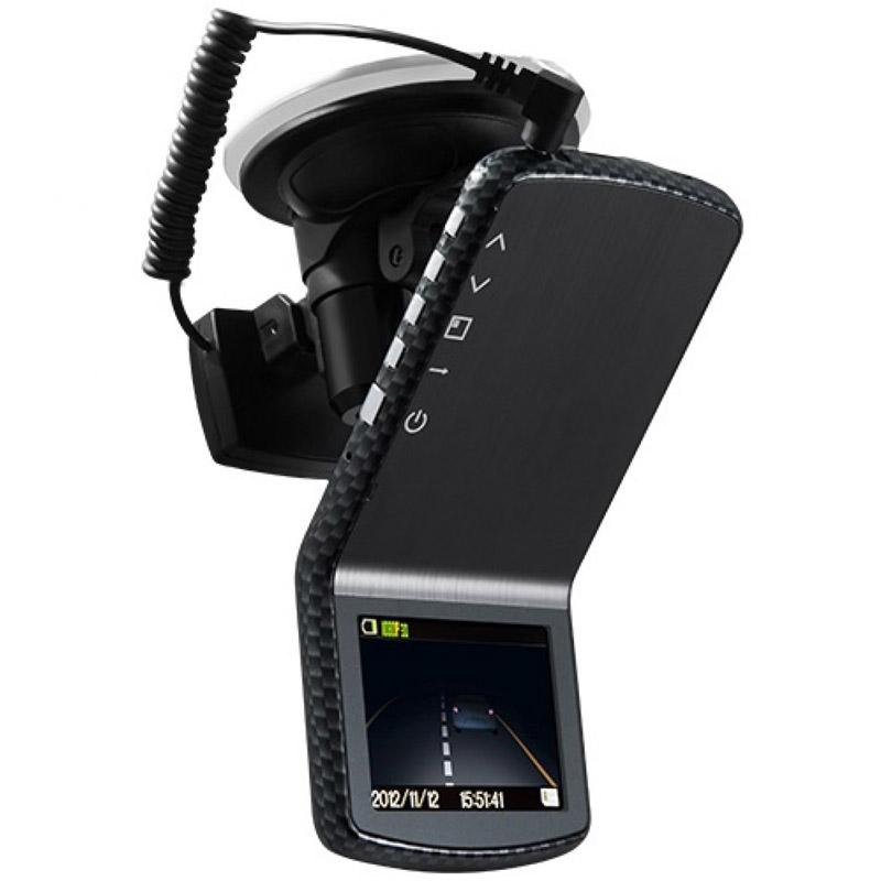 Видеорегистратор Deluxe DLVR-810CG Black