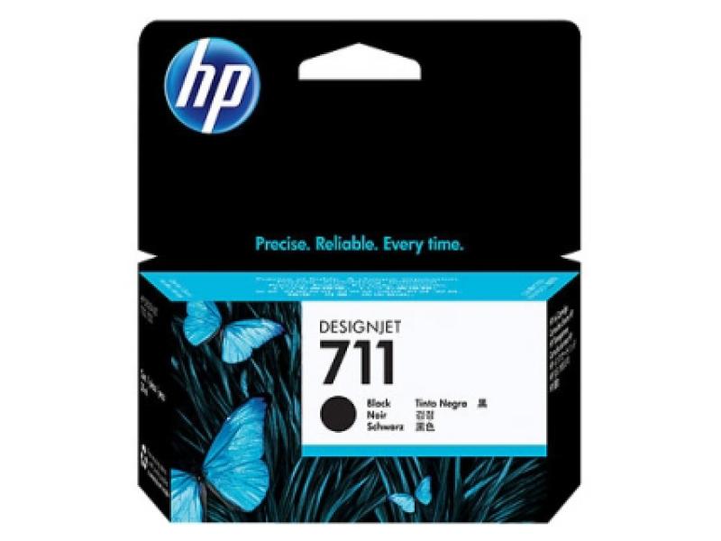 Картридж HP-DJ T120/T520 CZ133A (711) Black