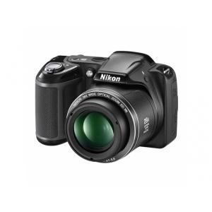 Цифровой фотоаппарат Nikon Coolpix L320 Black+4GB