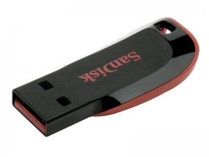 Флэшка Sandisk SDCZ50-064G-B35 Black/Red