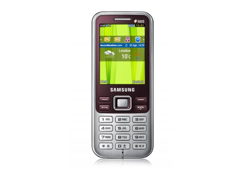 Мобильный телефон Samsung GT-C3322SRISKZ Red