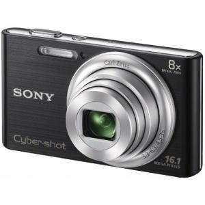Цифровой фотоаппарат Sony DSC-W730 Black