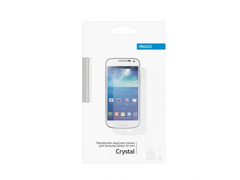 Защитная пленка Deppa для Samsung Galaxy S4 mini прозрачная